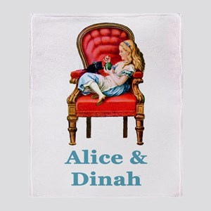 Alice and Dinah Throw Blanket