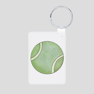 Tennis Aluminum Photo Keychain