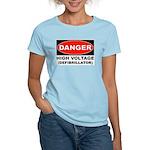 High Voltage Women's Pink T-Shirt