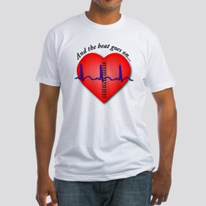 The Beat Goes On Fitted T-Shirt