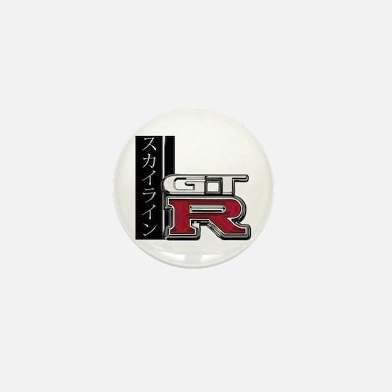 Skyline GT-R Katakana Mini Button