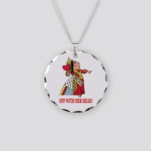 The Queen of Hearts Necklace Circle Charm
