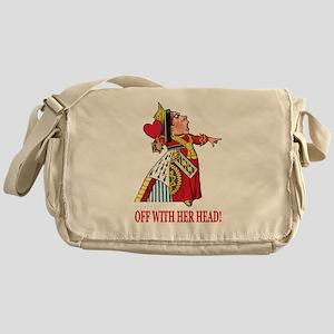 The Queen of Hearts Messenger Bag