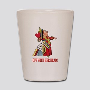 The Queen of Hearts Shot Glass
