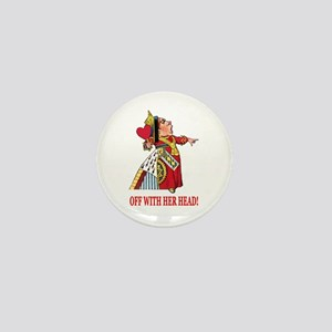 The Queen of Hearts Mini Button