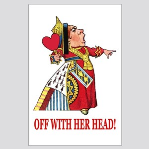 The Queen of Hearts Large Poster