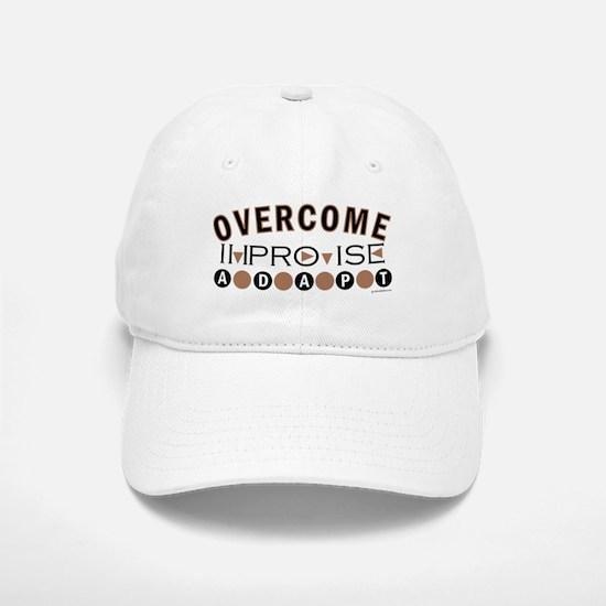 Improvise, Adapt, Overcome Baseball Baseball Cap