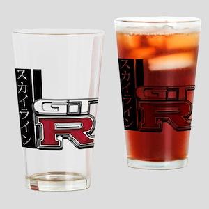 Skyline GT-R Katakana Drinking Glass