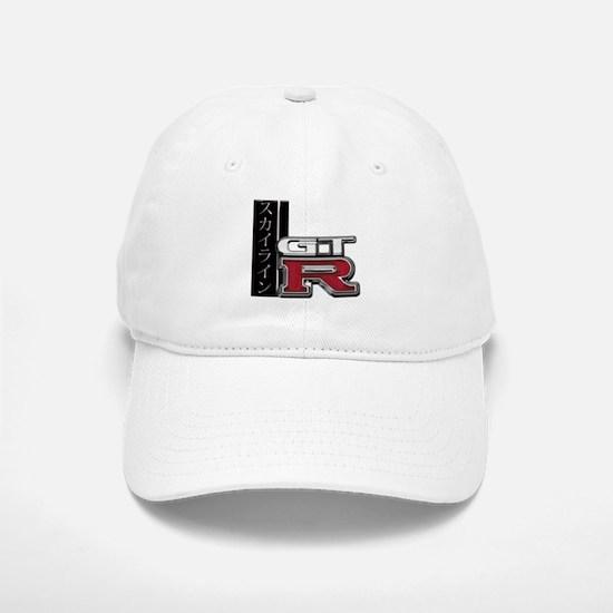 Skyline GT-R Katakana Baseball Baseball Cap