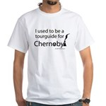 Tourguide at Chernobyl White T-Shirt