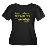 Tourguide at Chernobyl Women's Plus Size Scoop Nec