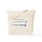 Tourguide at Chernobyl Tote Bag