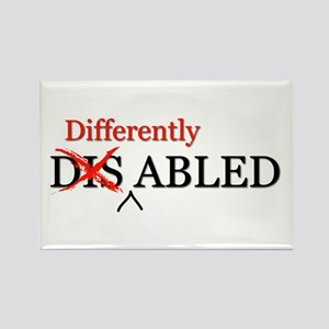 Differently Abled Rectangle Magnet