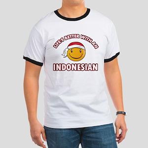 Cute Indonesian designs Ringer T