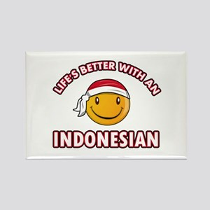 Cute Indonesian designs Rectangle Magnet