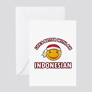 Indonesia greeting cards cafepress cute indonesian designs greeting card m4hsunfo