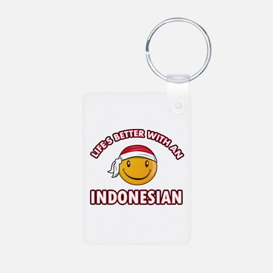 Cute Indonesian designs Keychains
