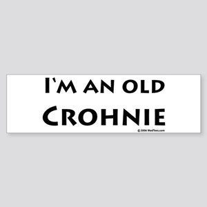 Old Crohnie Sticker (Bumper)