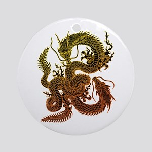 Karami ryuu2 Ornament (Round)