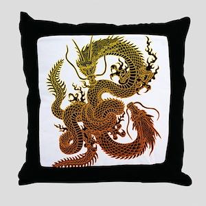 Karami ryuu2 Throw Pillow