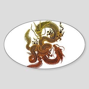 Karami ryuu2 Sticker (Oval)