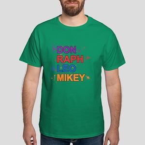 Turtle Power (Splatter) Dark T-Shirt