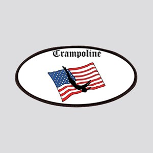 Trampoline gymnast Patches