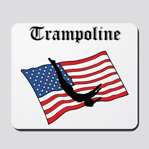 Trampoline gymnast Mousepad