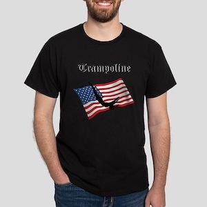 Trampoline gymnast Dark T-Shirt