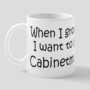 Grow Up Cabinetmaker Mug