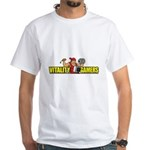 White T-Shirt (2 Sided)