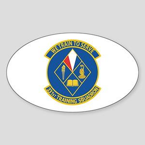 331st Training Squadron Sticker (Oval)