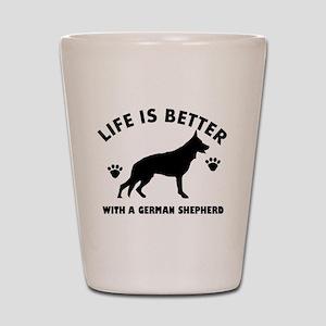 German shepherd breed Design Shot Glass
