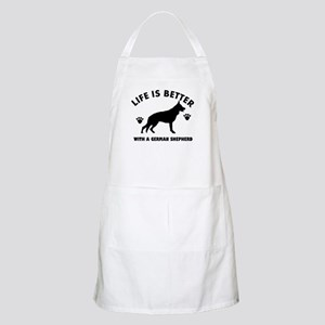 German shepherd breed Design Apron