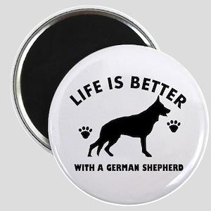 German shepherd breed Design Magnet