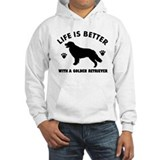 Golden retrievers Light Hoodies