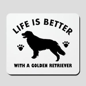 Golden retriever breed Design Mousepad
