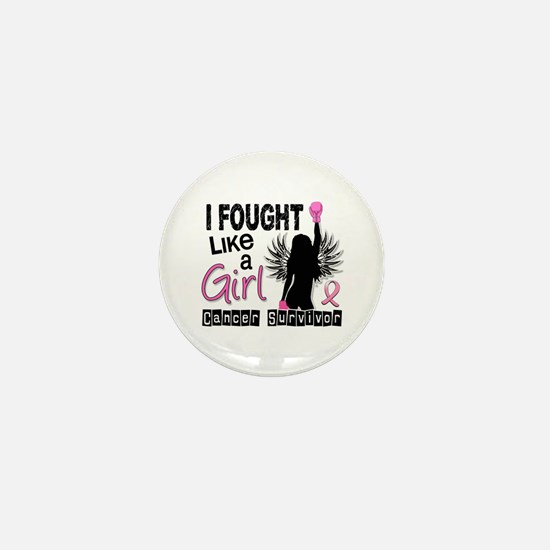 Licensed Fought Like a Girl 26S Mini Button