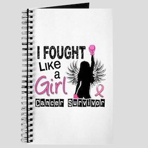 Licensed Fought Like a Girl 26S Journal