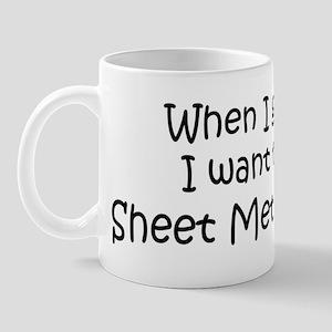 Grow Up Sheet Metal Worker Mug