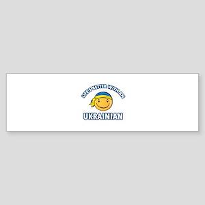 Cute Ukrainian designs Sticker (Bumper)