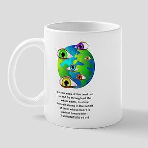 The Eyes of the Lord Mug