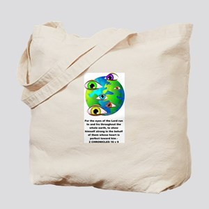 The Eyes of the Lord Tote Bag