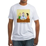Pistachio-Stash Fitted T-Shirt