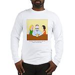 Pistachio-Stash Long Sleeve T-Shirt