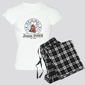 DOGGIE DINER Restaurant Logo #2 Pajamas