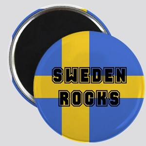 Sweden Rocks Magnet