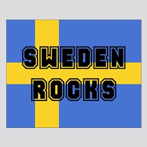 Sweden Rocks Small Poster