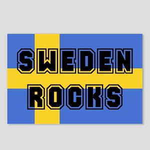 Sweden Rocks Postcards (Package of 8)