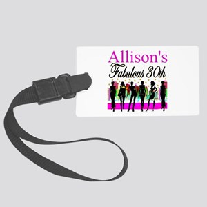 30TH PRIMA DONNA Large Luggage Tag